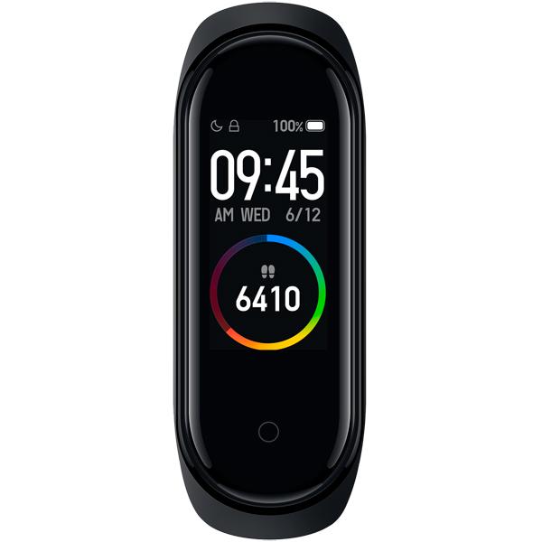 Фитнес-браслет Xiaomi Mi Smart Band 4, чёрный