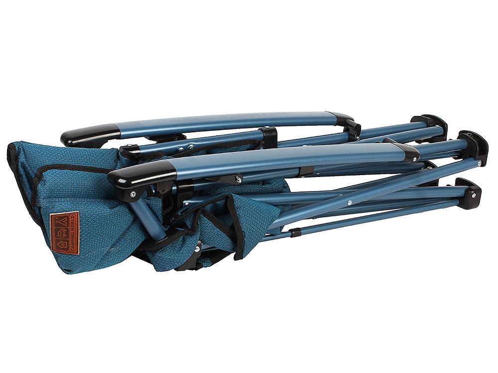 Кресло Camping World Dreamer Chair blue (4,8 кг, чехол, мягкое сиденье, карманы, цвет-синий) одеяла lodger baby dreamer флис