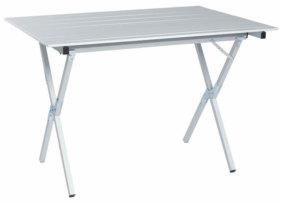 Стол походный Camping World Long Table (чехол, размер 110х72х80, вес 7,4кг, столешница алюминиевые рейки)