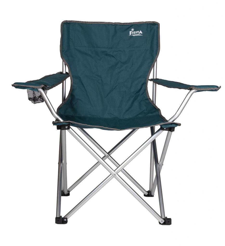 Кресло складное Fiesta Companion цвет синий кресло helios складное hs750 99806h