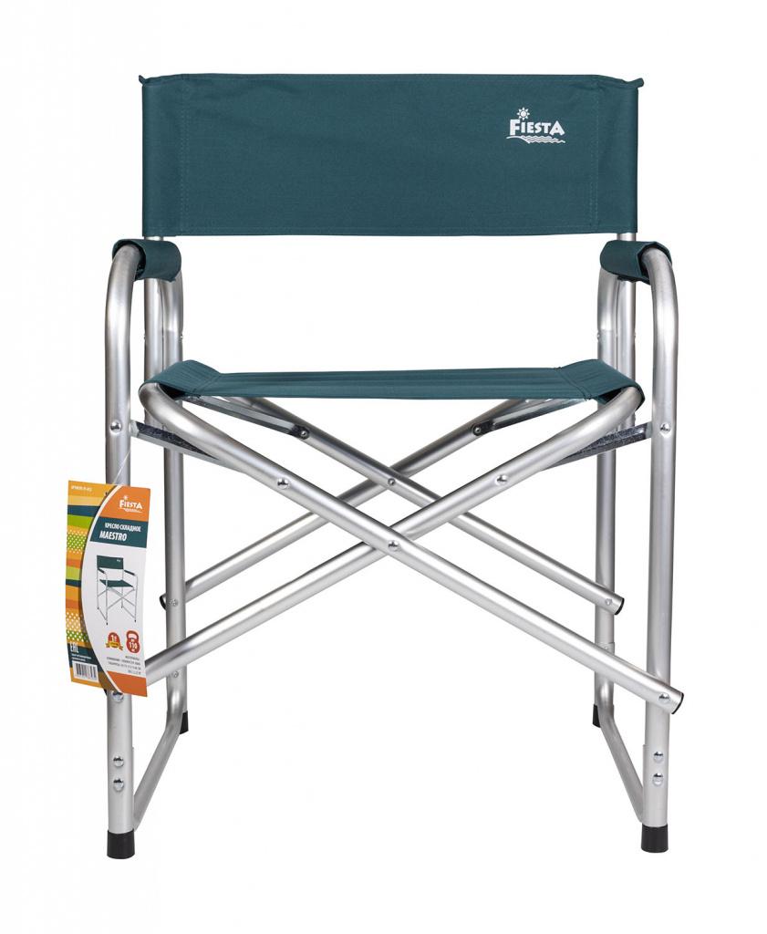 Кресло складное Fiesta Maestro цвет синий кресло helios складное hs750 99806h