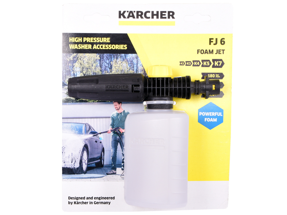 Насадка для минимоек Karcher 2.643-147.0 для пенной мойки аксессуар для стеклоочистителей karcher насадка для мойки окон