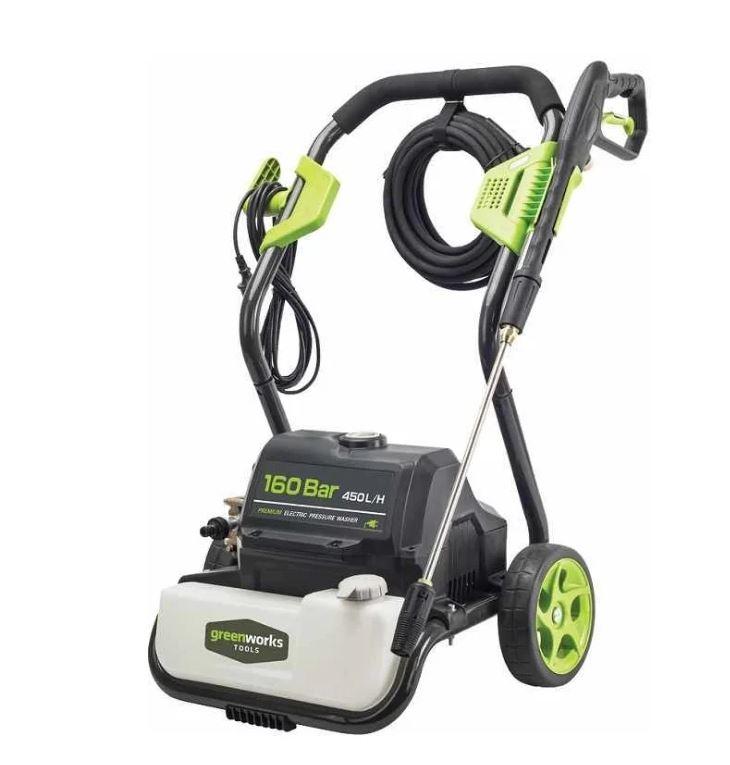 Мойка высокого давления Greenworks G8 2800 Вт, 160 Бар, 450 л/ч цена