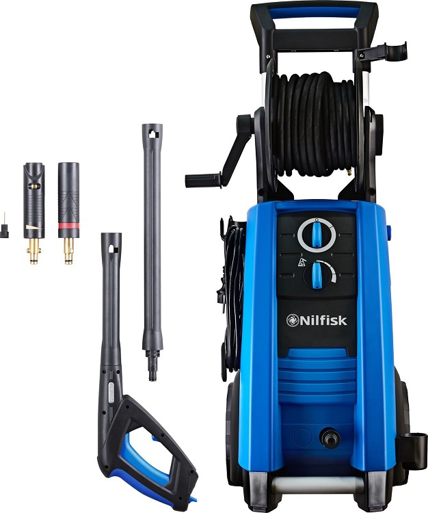 Мойка высокого давления Nilfisk P 160.2-15 X-TRA EU 3300 Вт, 160 Бар, 650 л/ч мойка nilfisk e145 4 9 x tra eu 128471185