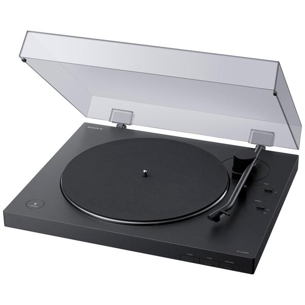 Виниловый проигрыватель Sony PS-LX310BT Черный, Bluetooth