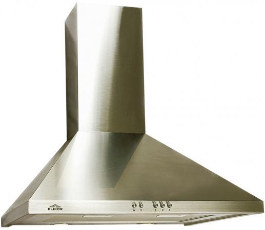 Вытяжка каминная Elikor Вента 60Н-650-К3Д нержавеющая сталь
