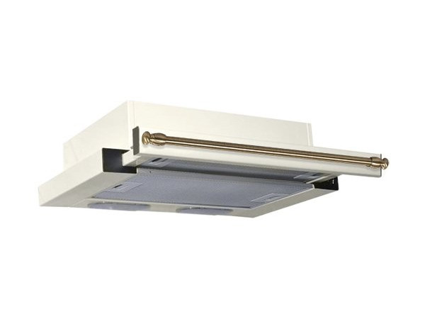 Вытяжка встраиваемая ELIKOR Интегра 60П-400-В2Л, Молоко/рейлинг бронза