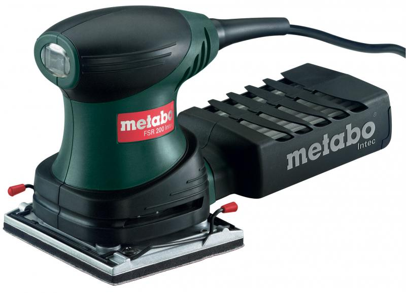 цена на Виброшлифовальная машина Metabo FSR 200 Intec 200Вт 600066500