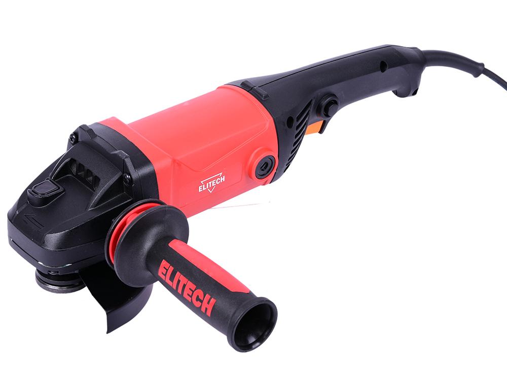 Картинка для Углошлифовальная машина Elitech 1412 125 мм 1350 Вт