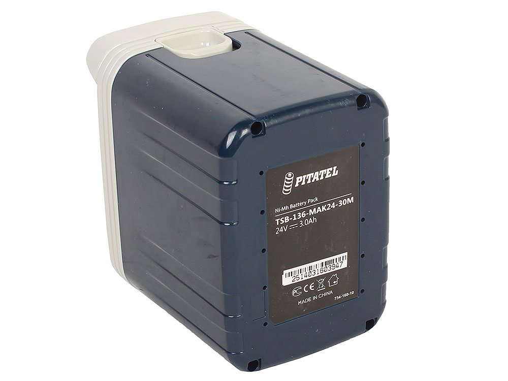 Аккумуляторная батарея Pitatel tsb-136-mak24-30m Ni-Mh 24V 3.0Ah для инструмента MAKITA2420, BH2420 аккумулятор для инструмента pitatel для makita tsb 038 mak96stick 30m