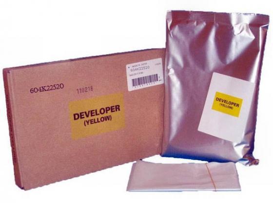 Девелопер Xerox 604K22520 для WCP2128/2636/3545/7235/ Phaser 7760 желтый фотобарабан xerox 108r00713 для phaser 7760 35000стр