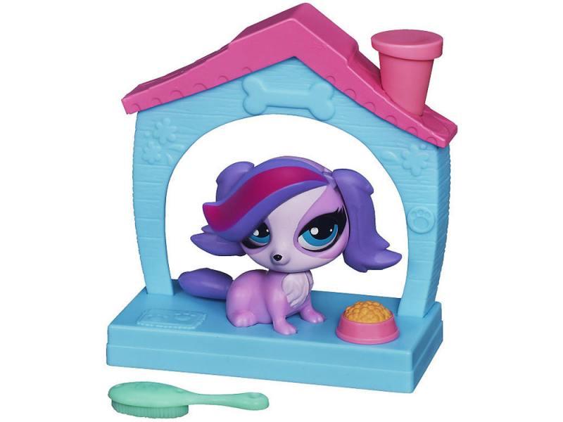 цена на Игровой набор Hasbro Littlest Pet Shop Зверюшка с волшебным механизмом 4 предмета А5130
