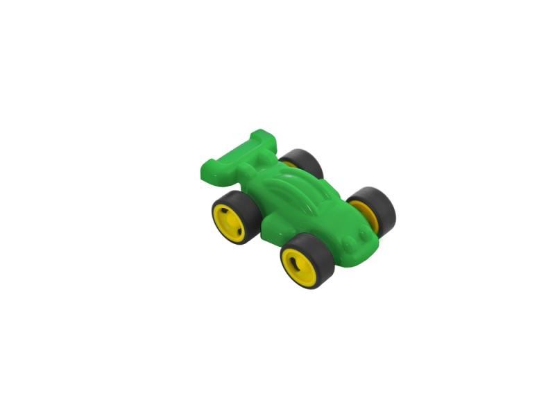 Мини-машина Miniland 12 см. зеленый 27481 цена