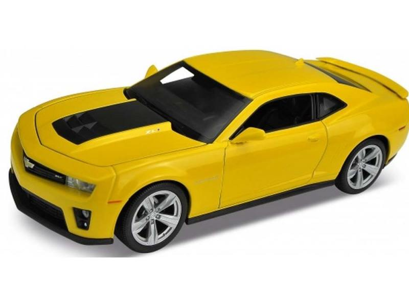 Автомобиль Welly Chevrolet Camaro ZL1 1:24 автомобиль welly porsche cayman s 1 24