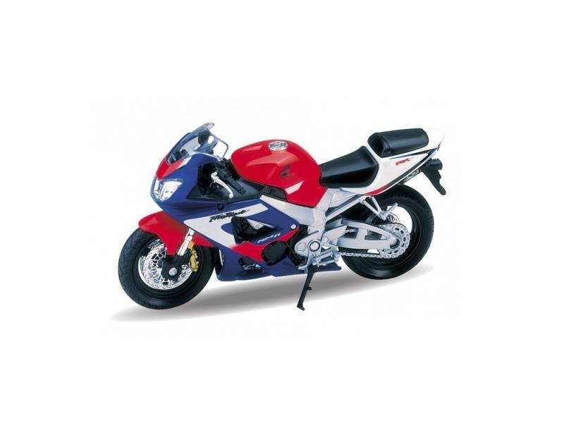 Мотоцикл Welly Honda CBR900RR Fireblade 1:18 цена