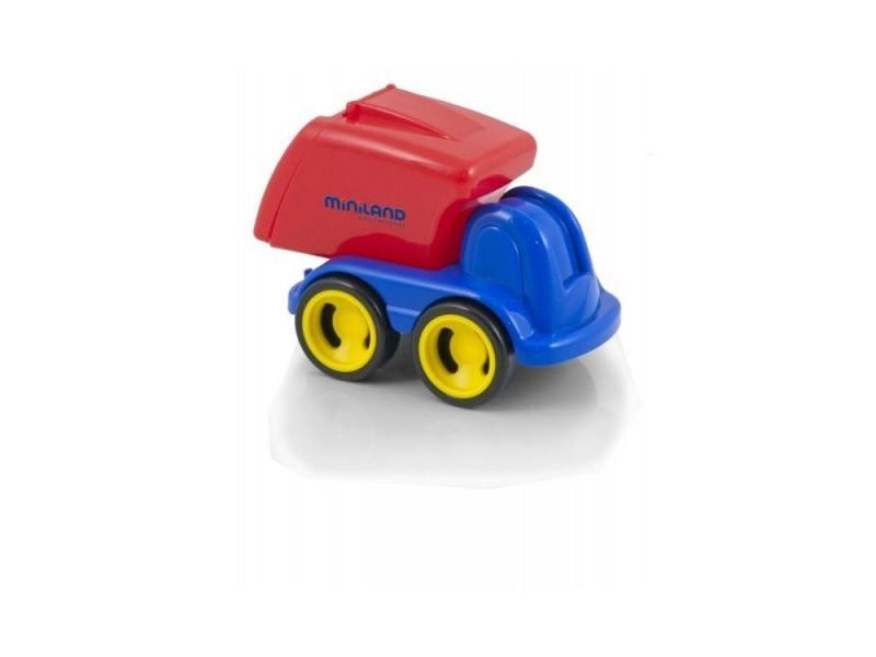 цены Мусоровоз Miniland Мини-машина 1 шт 19 см синий 27478
