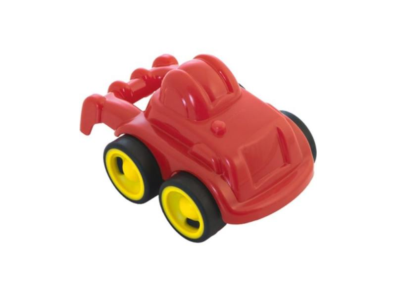 Трактор Miniland Мини-машина 1 шт 12 см красный 27484 автомобиль miniland гоночная 1 шт 12 см красный