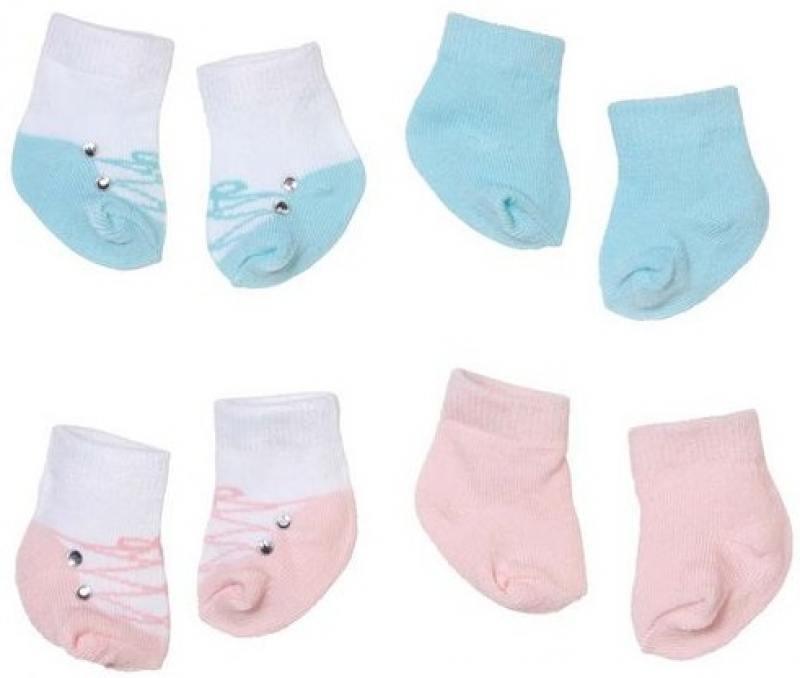 Игрушка Baby Annabell Носочки (2 пары), блистер Zapf Creation 92285 игрушка baby annabell кроватка спокойной ночи кор