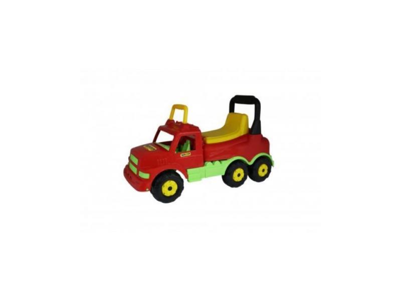 тюбинги r toys 118 см Каталка-машинка R-Toys Буран-1 Wader пластик от 1 года красный