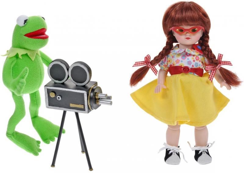 Картинка для Игровой набор Madam Alexander Мегги и Кермит в Голливуде 20 см 64160