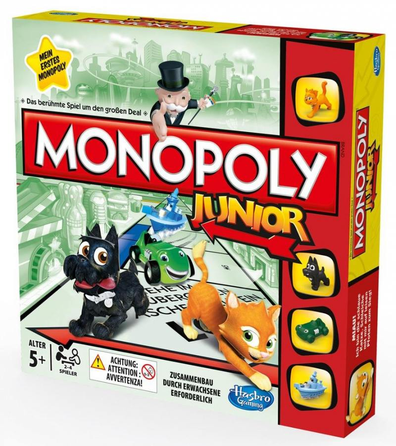 Настольная игра для вечеринки Hasbro Монополия Моя первая игра A6984 hasbro b7512 монополия россия