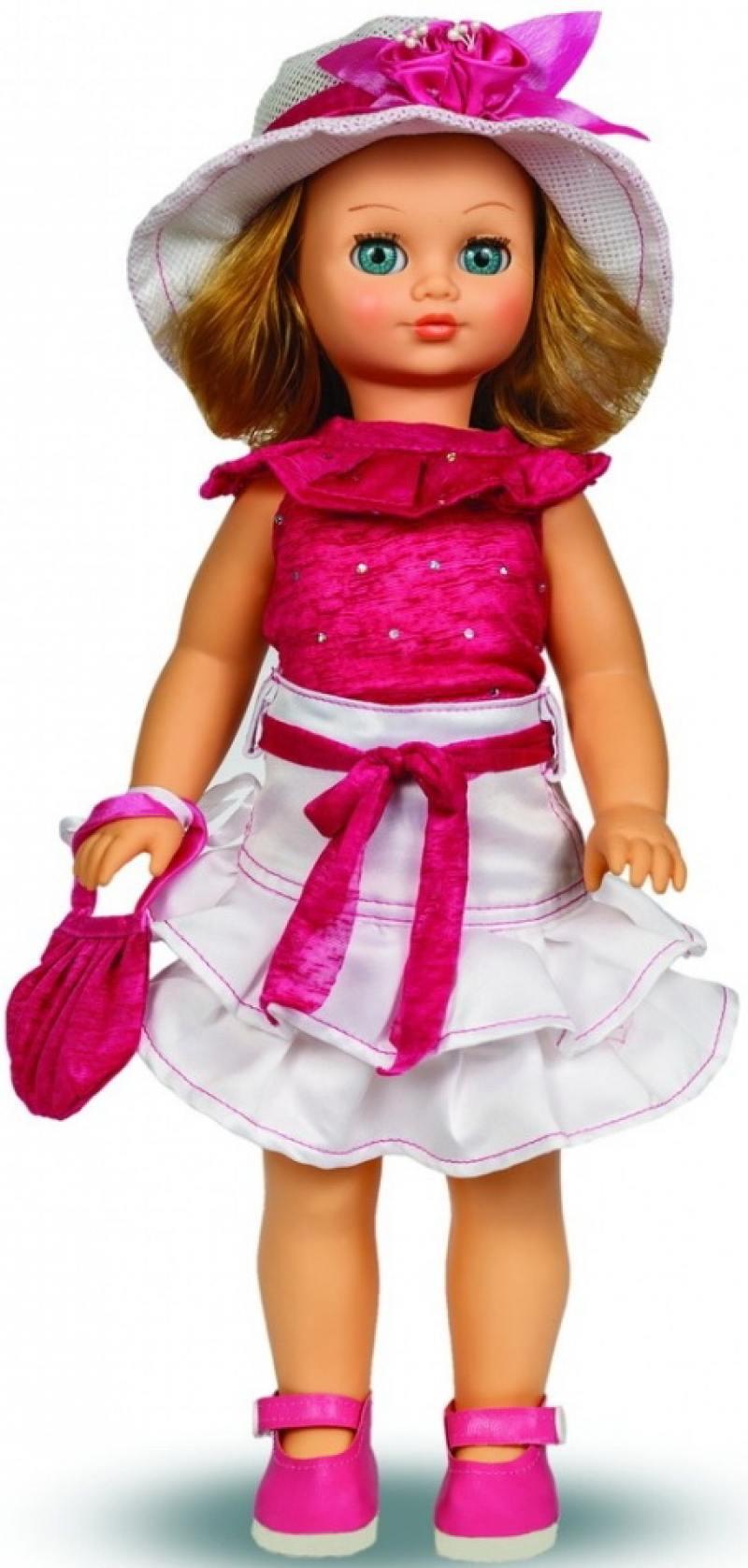 Кукла ВЕСНА Лиза 16 (озвученная) В2144/о весна кукла озвученная герда цвет платья желтый синий