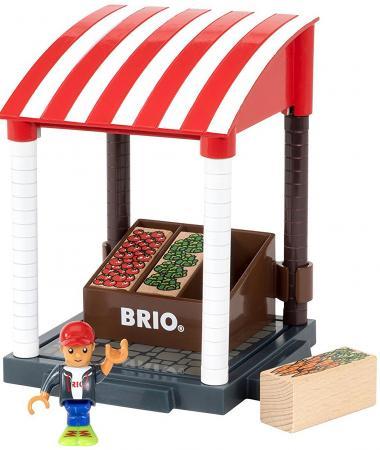 Игровой набор Brio Магазинчик,11 предм.,20х12х15см,кор. игровой набор brio детская площадка 4 предмета