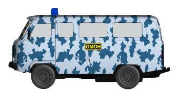 Купить Инерционная металлическая машинка Play Smart ОМОН, 12, 5х5, 7х7см, Игрушки