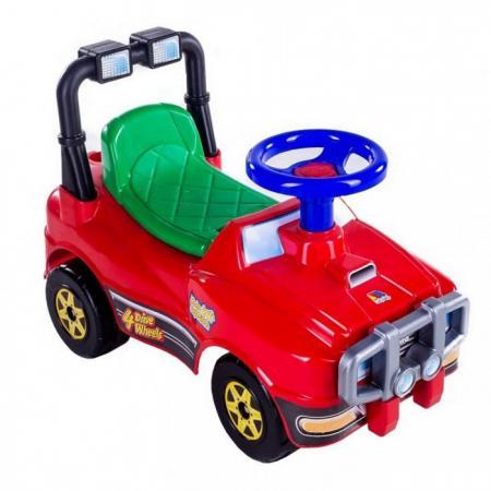 Каталка-машинка Molto Джип 62857 от 1 года на колесах красный все цены