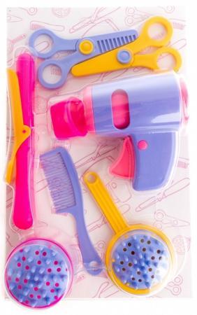 Игровой набор Пластмастер Красотка 7 предметов 22220 автомобиль пластмастер малютка зефирки цвет в ассортименте 31172