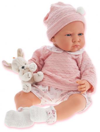 Кукла Munecas Antonio Juan Бернардита в розовом, озвуч., 52 см 1952P кукла munecas antonio juan соня в ярко розовом 37 см плачущая 1443v