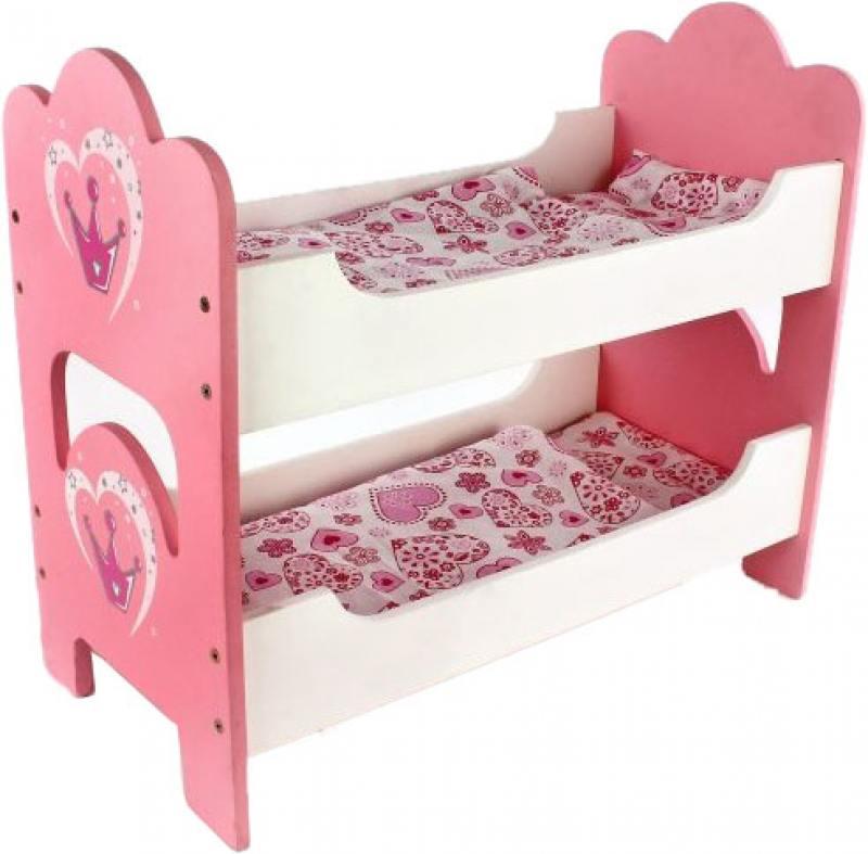 Кроватка для кукол Mary Poppins Корона цена 2017