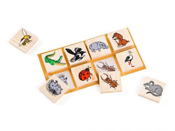 Настольная игра лото Томик Животный мир 48 шт. 6-2222-2 владислав выставной кремль 2222 садовое кольцо