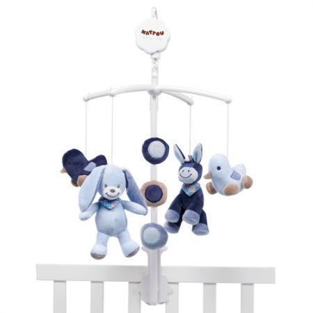 Купить Мобиль Nattou Alex & Bibiou Ослик и Кролик (321228), Игрушки