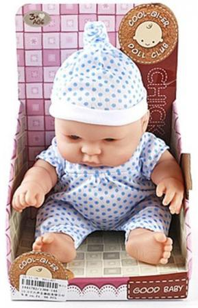 Кукла-младенец Shantou Gepai 25 См, озвуч., в костюмчике, кор. 1388-14A цена