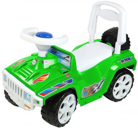Каталка-машинка Rich Toys Race Mini Formula 1 ОР419к пластик от 10 месяцев на колесах зеленый каталка трактор r toys ор931к пластик от 10 месяцев на колесах красно желтый