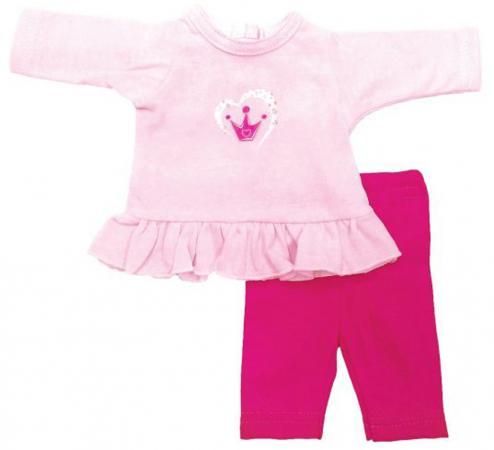Одежда для куклы Mary Poppins 38-43см, туника и легинсы Корона 211 рюкзак mary poppins принцесса