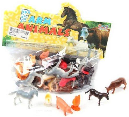 Набор фигурок Shantou Gepai Домашние животные 4 см 866-C31 цена