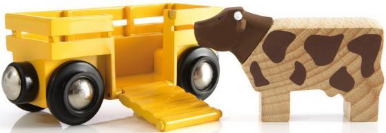 цены на Вагон Brio с коровой  в интернет-магазинах