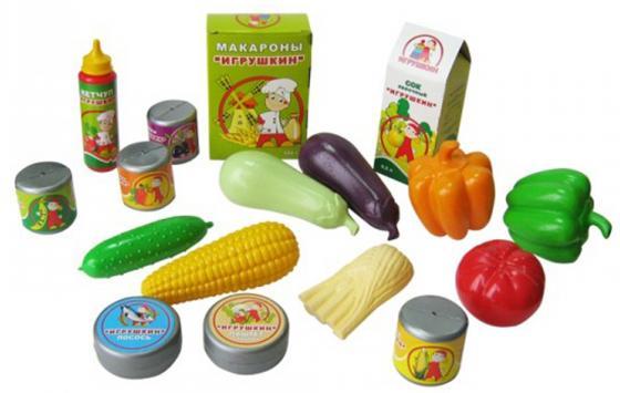 Набор продуктов Пластмастер Скатерть-самобранка 21022 автомобиль пластмастер малютка зефирки цвет в ассортименте 31172