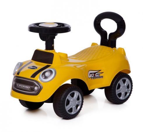 Каталка-машинка Baby Care Speedrunner пластик от 1 года на колесах желтый каталка беговел rt самоделкин пластик от 1 года на колесах бирюзовый