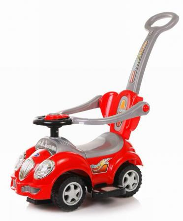 Baby Care, Каталка детская Cute Car Красный (Red) каталка baby care cute car blue