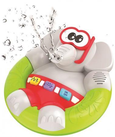 Интерактивная игрушка 1Toy Веселый Слоненок от 3 лет серый Т10500 музыкальные игрушки 1toy интерактивная игрушка 1toy смартфон музыкальные инструменты