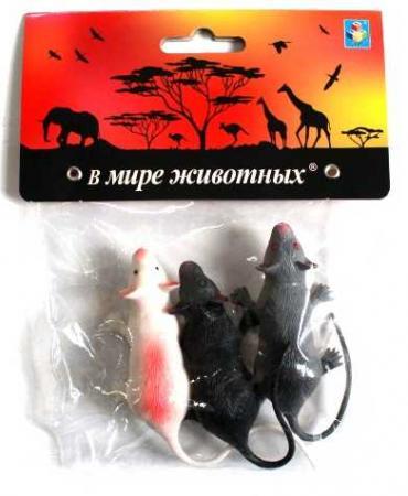 Фото - Набор игрушек 1toy В мире животных - Крысы Т10492 полесье набор игрушек для песочницы 468 цвет в ассортименте