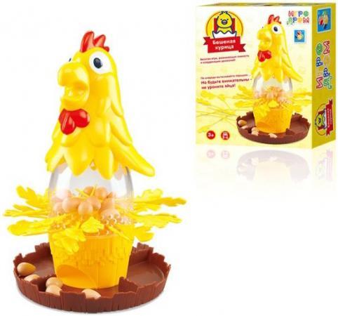 Настольная игра развивающая 1toy Бешеная курица Т10829 стоимость