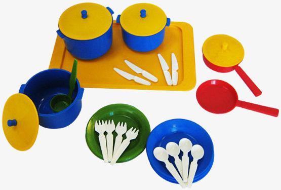 Набор посуды Плейдорадо Хозяюшка 21005 набор посуды плейдорадо для чаепития 22016