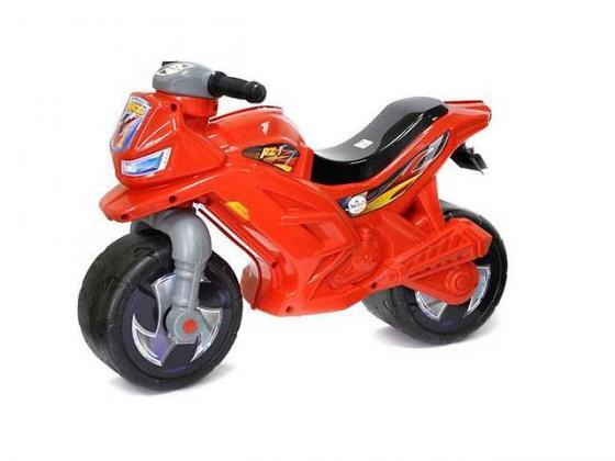 Каталка-мотоцикл RT Racer RZ 1 пластик от 18 месяцев на колесах красный