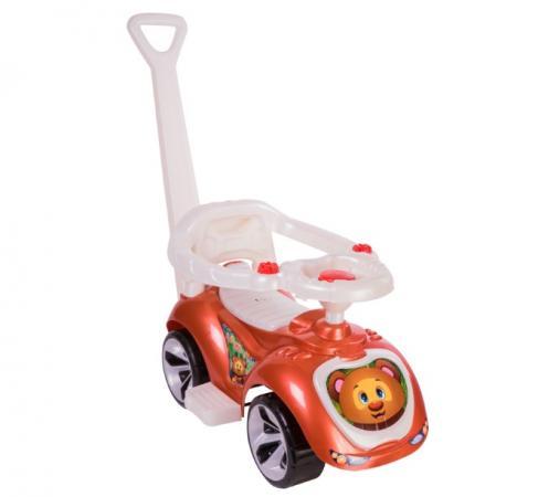 Каталка-машинка RT Мишка (LAPA) пластик от 10 месяцев на колесах бронза каталка машинка kiddieland волшебная принцесса пластик от 18 месяцев на колесах розовый kid 043935veg