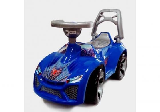 Каталка-машинка RT Ламбо пластик от 10 месяцев на колесах синий каталка машинка kiddieland волшебная принцесса пластик от 18 месяцев на колесах розовый kid 043935veg