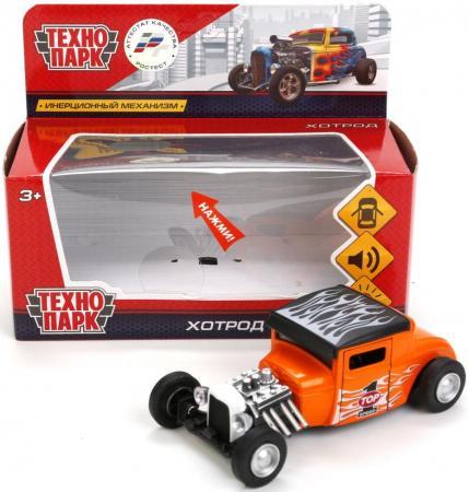 Внедорожник Технопарк ХОТРОД черно-оранжевый FY6138-S стоимость